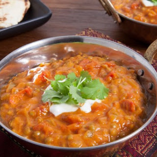 Brown Lentils Dal Curry Recipes