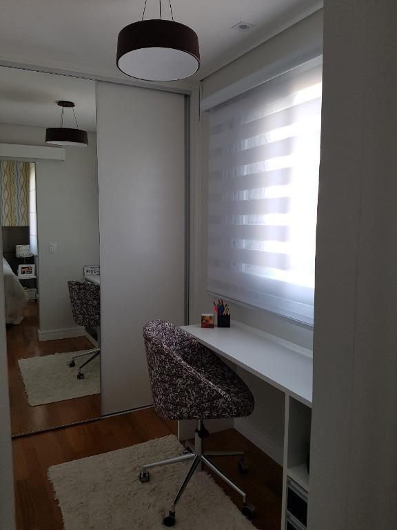 Apartamento com 2 dormitórios à venda, 57 m², semimobiliado - Jardim - Santo André/SP