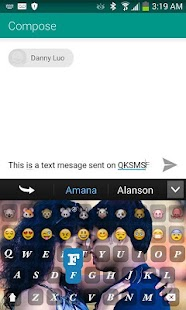 Lover Keyboard Andro Emoticon - screenshot