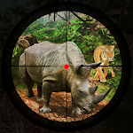 Safari Jungle Hunting Shooting Park Simulation Icon
