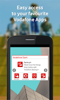Screenshot of Vodafone Start