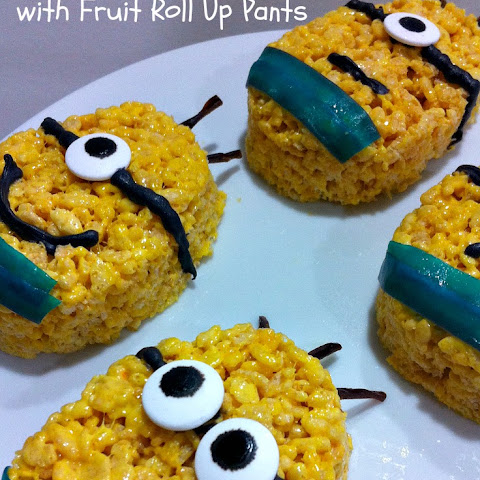 Minion Rice Krispies Treats Fun Food Idea