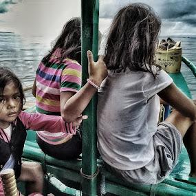 Tres marias by Jayson Macasu - Babies & Children Children Candids
