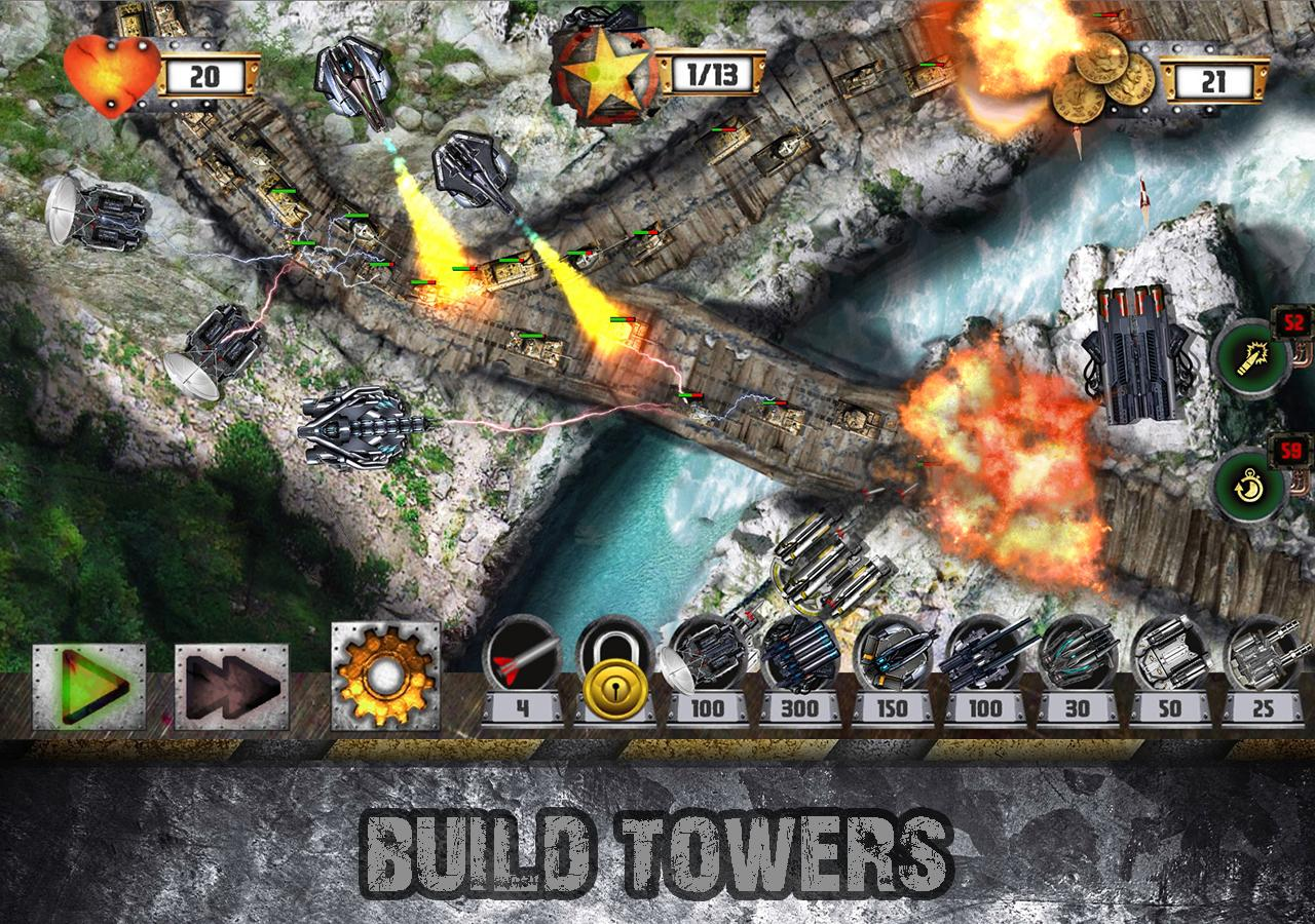 Tower Defense: Tank WAR Screenshot