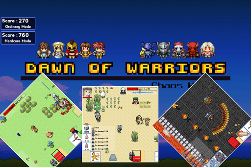 Dawn of Warriors - screenshot