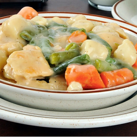 Chicken & Dumplings (Slow Cooker)