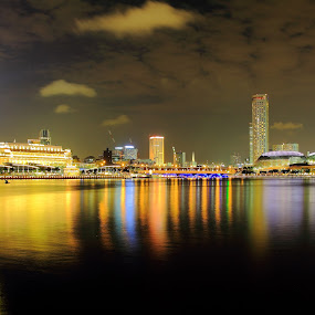Marina Bay by Roni Terisno - Landscapes Waterscapes
