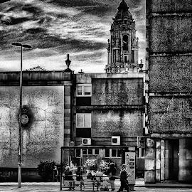 by Sandra Cid - City,  Street & Park  Street Scenes