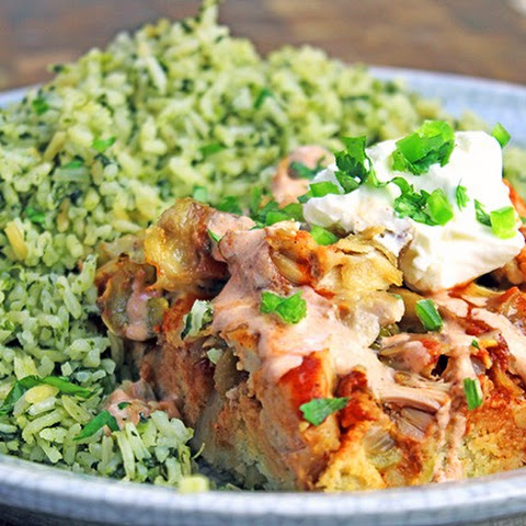 Chicken Fajita Tamale Bake