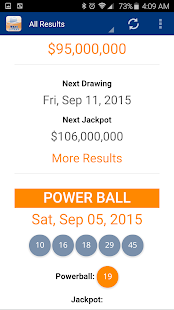 Texas Lottery Results - screenshot