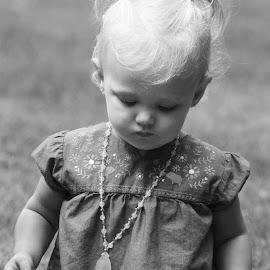 Vannie by Stacey Legg - Babies & Children Children Candids ( farm, babies, piglets, animals, black and white, pigs )