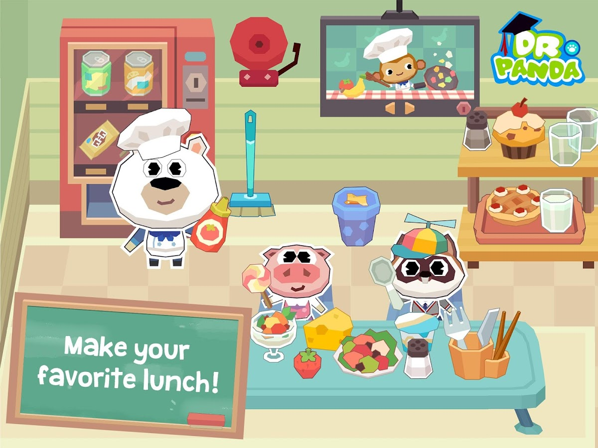 Dr. Panda School Screenshot 4