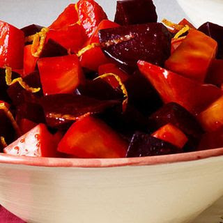 Warm Sweet-and-Sour Orange Beets