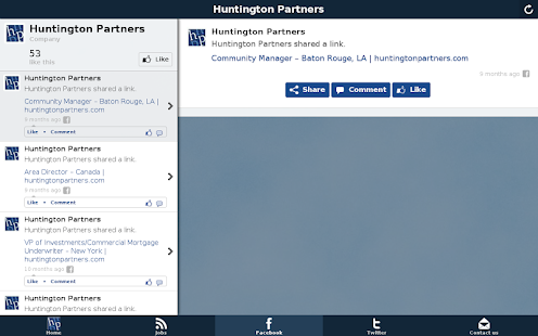 huntingtonpartners - screenshot