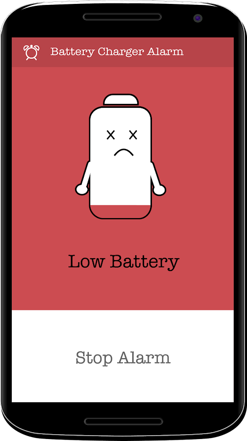 Battery Charger Alarm Screenshot 2