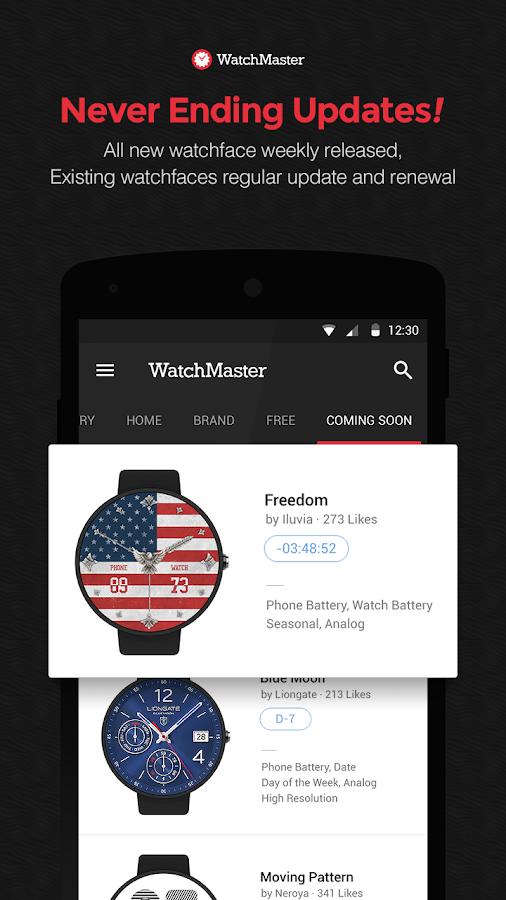 WatchMaster - Watch Face Screenshot 4