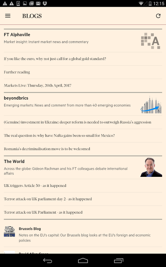 Financial Times Screenshot 18