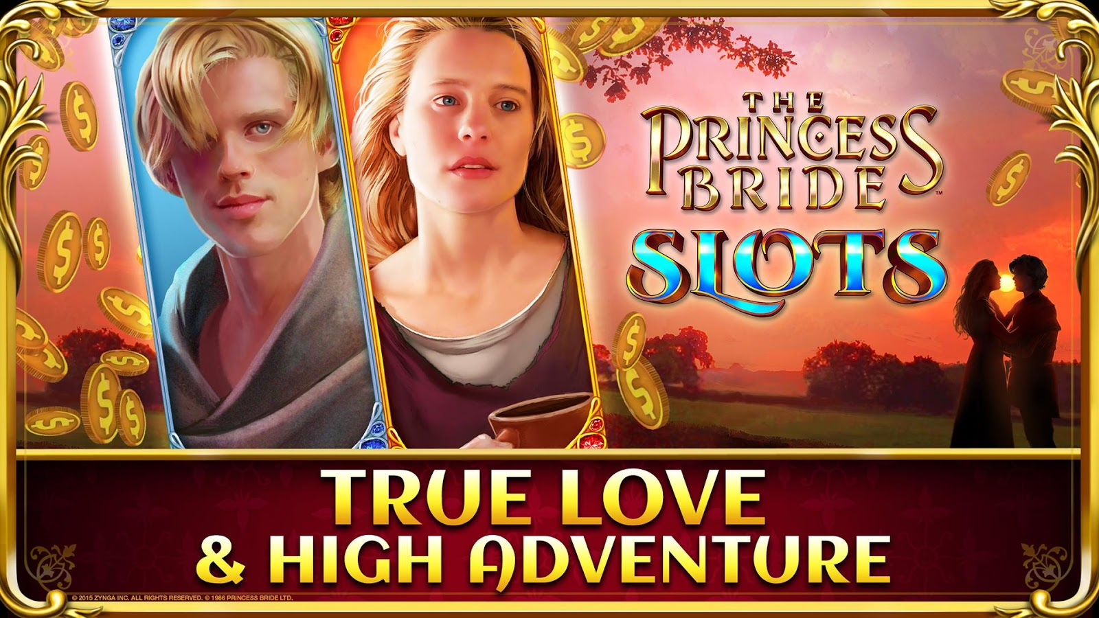 Princess Bride Slots Casino Screenshot