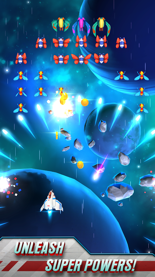 Galaga Wars Screenshot 2