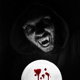 I am Dracula by Mario Denić - Digital Art People ( vampire, dark, digital, horror, manipulation )