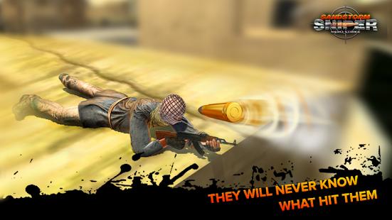 Sandstorm Sniper : Kill Strike