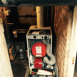 New Grant system boiler installation in Sonning Common near Henley-on-Thames - Oxfordshire