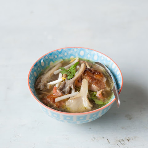 Easy noodle-free Chinese soup