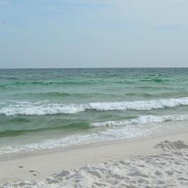 Waves by Kayla House - Landscapes Beaches ( water, sand, waves, ocean, beach, sandy, sun, sandy beaches, beaches, great, vacation, florida, sunny, summer )