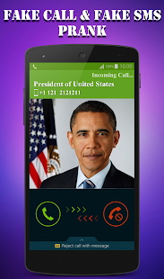 Fake Call & Fake SMS Screenshot