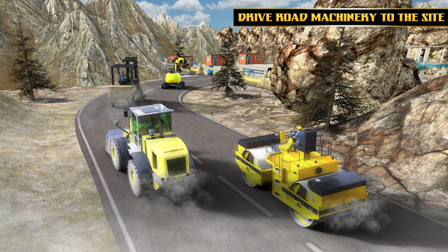Highway Tunnel Construction & Cargo Simulator 2018 APK screenshot thumbnail 2