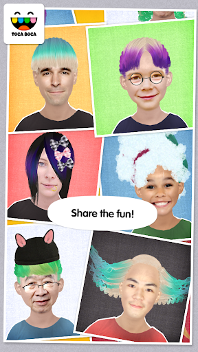 Toca Hair Salon Me screenshot 11
