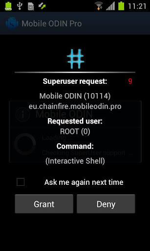 SuperSU Pro screenshot 1