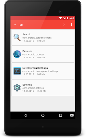 android APK Extractor Screenshot 7