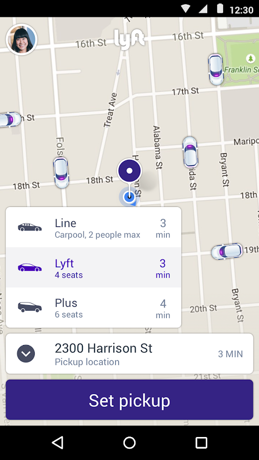 Lyft - Taxi App Alternative Screenshot