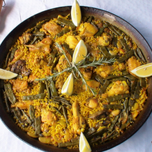 Paella Valenciana. The original recipe for Paella