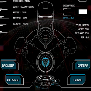Jarvis UI V.2 klwp theme For PC / Windows 7/8/10 / Mac – Free Download