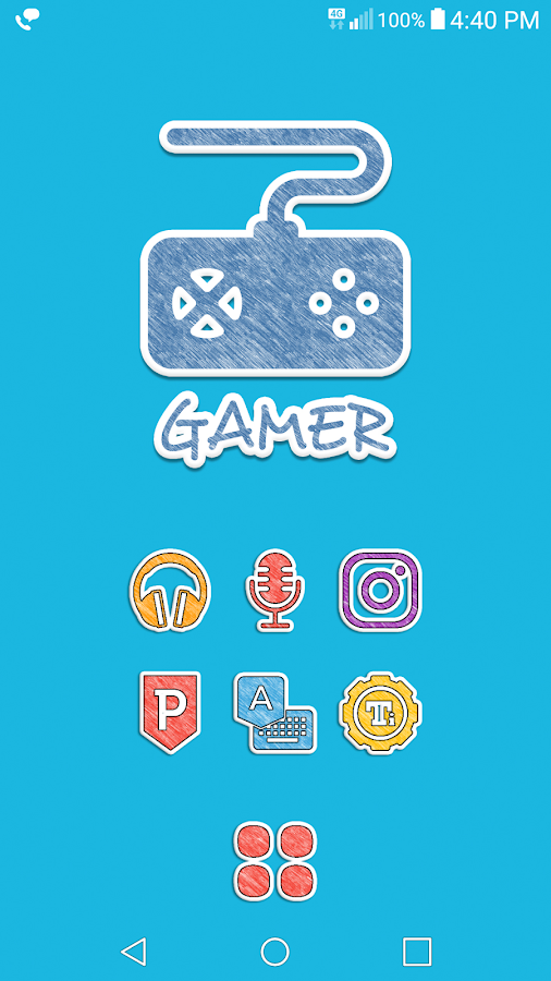 Doodle Stickers Icon Pack Screenshot 2