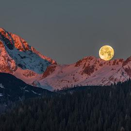Moon by Bogy Urevc - Landscapes Sunsets & Sunrises