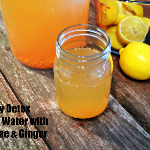 Lemon Cayenne Ginger Detox Water
