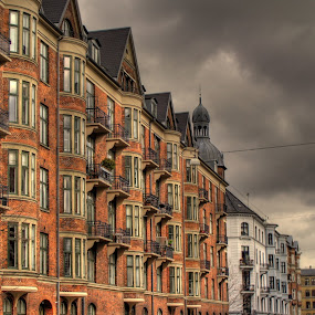 Danish Apartments by Gaurav Dhup - Buildings & Architecture Other Exteriors ( hdr, apartment, denmark, architecture, homes )