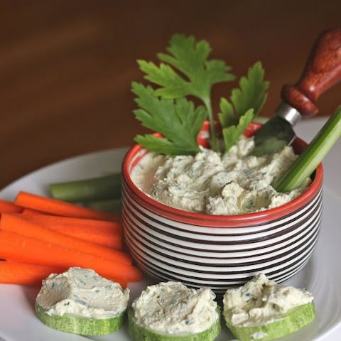 Herb Scallion Tofu Spread