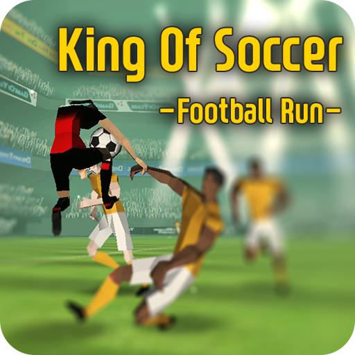King Of Soccer : Football run (game)