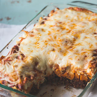 Vegetarian Sweet Potato Quinoa Lasagna