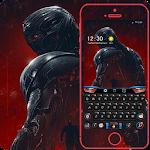 Steel robots keyboard theme Icon