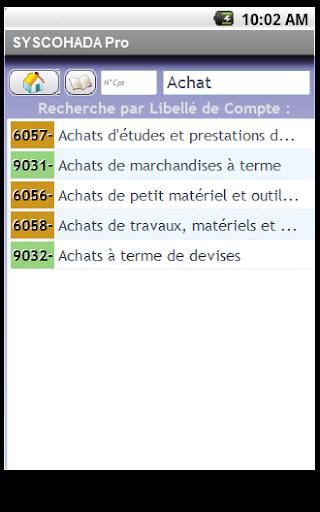 SYSCOHADA Pro - screenshot