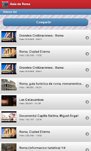 Guia de Roma - screenshot