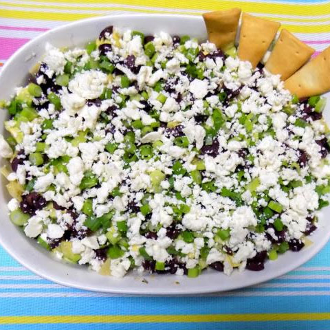 Nine Layer Greek Dip