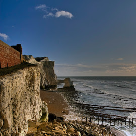 Seafood by Berit Watkin - Landscapes Caves & Formations ( water, england, sea, seaford, coast )