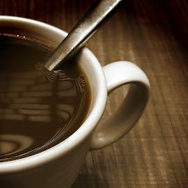 by T Sco - Food & Drink Alcohol & Drinks ( warm, beverage, breakfast, coffee, drink, spoon, table )