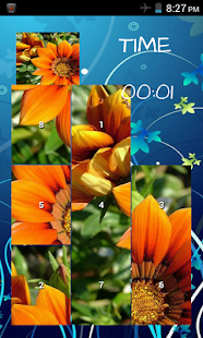 Flower Puzzle Game - screenshot